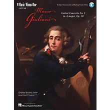 Music Minus One Giuliani - Guitar Concerto No. 1 in A Major, Op. 30 (2-CD Set) Music Minus One Series Softcover with CD