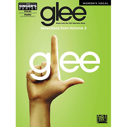 Hal Leonard Glee - Women's Edition Selections From Glee: The Music Vol. 3 The Singer's Series