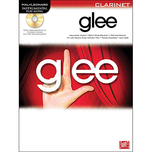 Hal Leonard Glee Intrumental Play-Along for Clarinet (Book/CD)