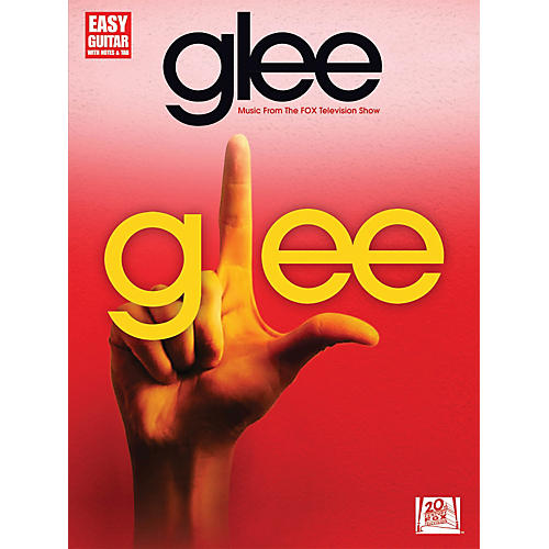 Hal Leonard Glee Music From The Fox Television Show For Easy Guitar With Tab