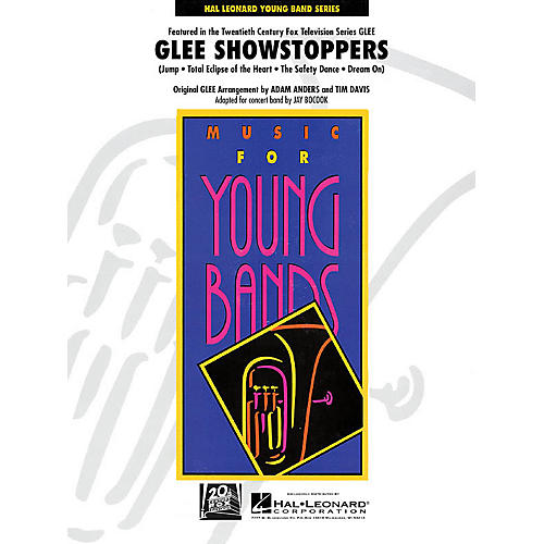Hal Leonard Glee Showstoppers - Young Concert Band Level 3 by Jay Bocook