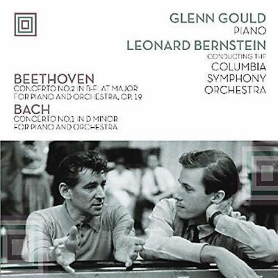 Glenn Gould - Plays Beethoven Concerto 2 & Bach Concerto 1