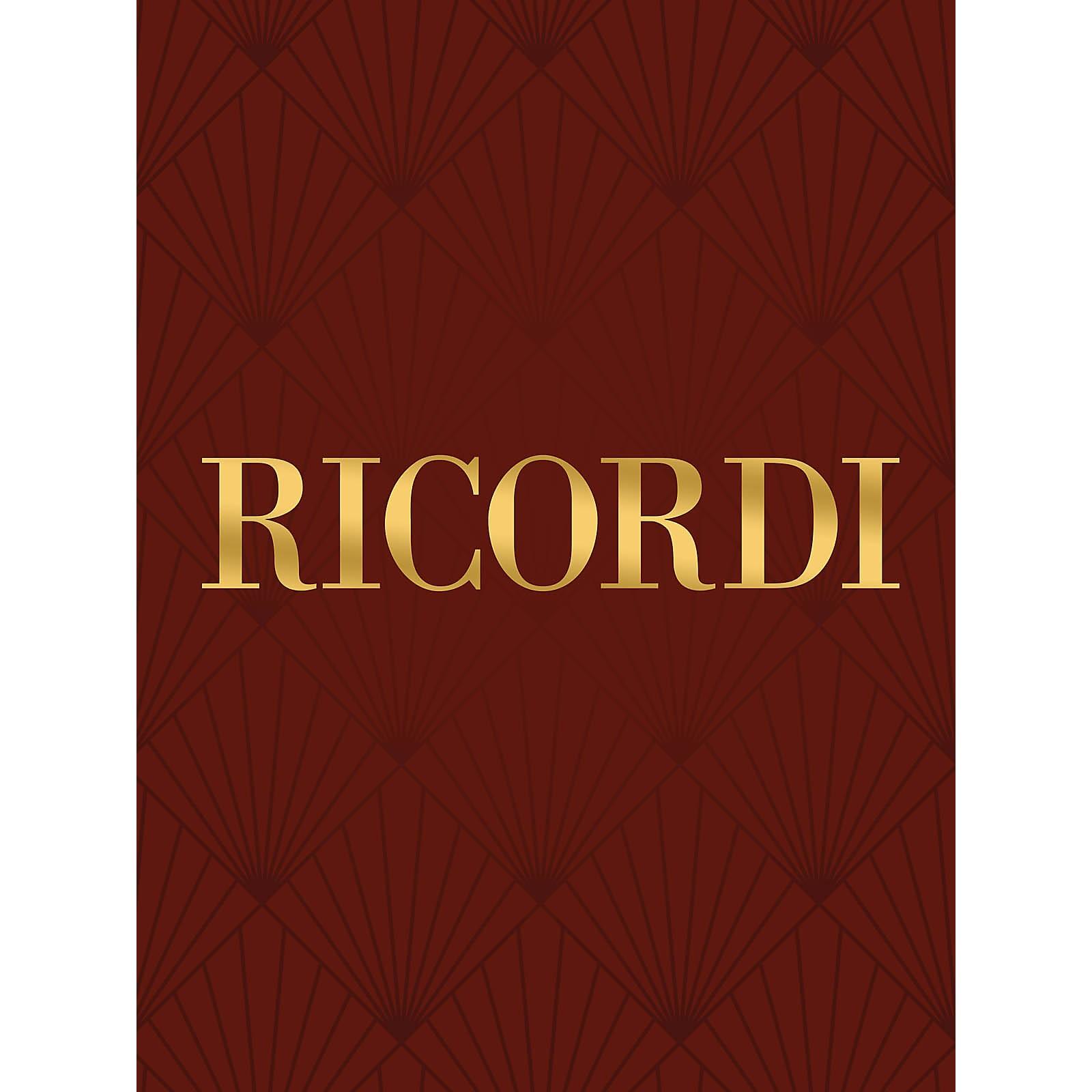 Ricordi Gli uccelli, Trittico botticelliano (Score) Study Score Series Composed by Ottorino Respighi
