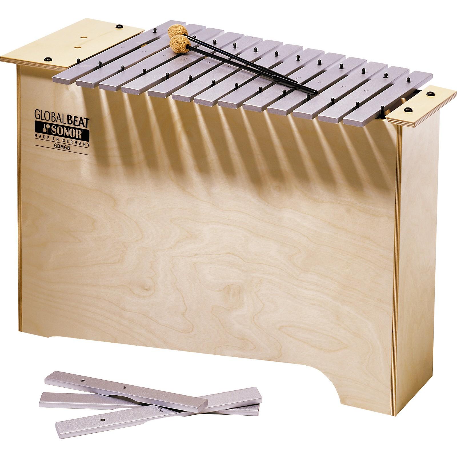 Sonor Orff Global Beat Deep Bass Metallophone
