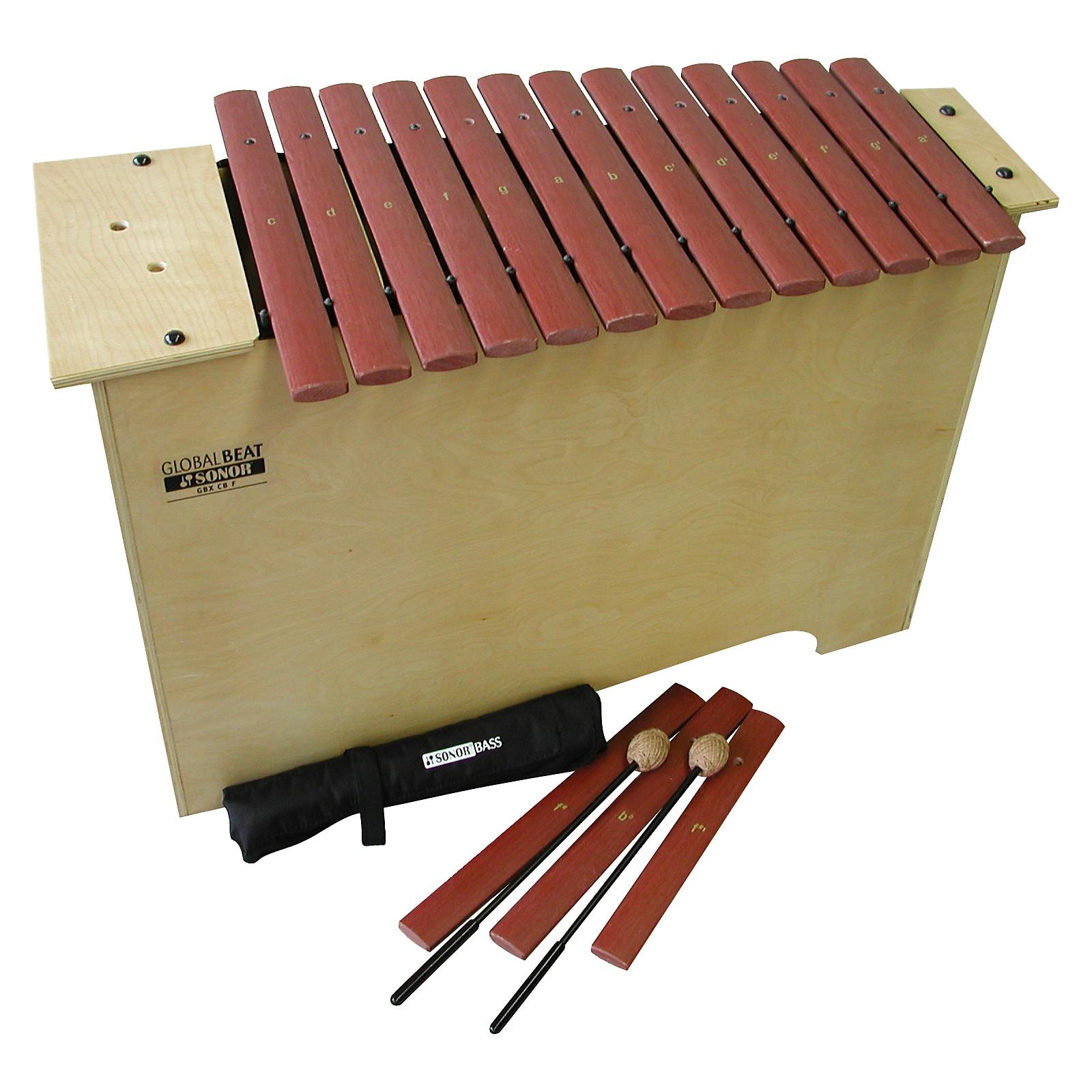 Sonor Orff Global Beat Deep Bass Xylophone with Fiberglass Bars