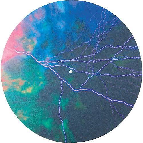 Musician's Gear Global Series Custom DJ Slipmat Pair - Lightning