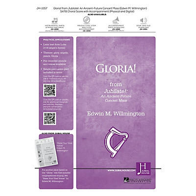Jubal House Publications Gloria! (From 'Jubilate') Accompaniment CD Composed by Edwin M. Willmington