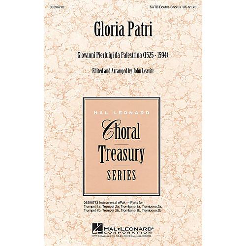 Hal Leonard Gloria Patri SATB
