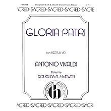 Hinshaw Music Gloria Patri SSAATTBB composed by Antonio Vivaldi