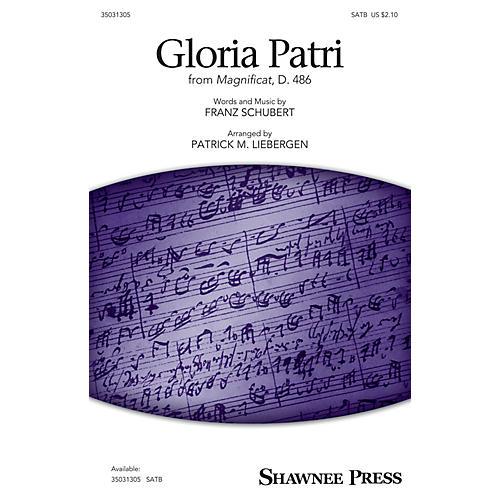 Shawnee Press Gloria Patri (from Magnificat, D. 486) SATB arranged by Patrick M. Liebergen
