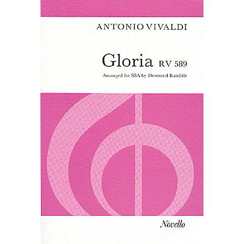 Novello Gloria RV.589 SSA Composed by Antonio Vivaldi Arranged by Desmond Ratcliffe