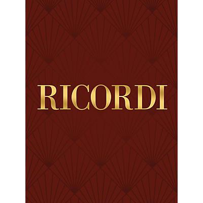 Ricordi Gloria RV589 (Vocal Score) SATB Composed by Antonio Vivaldi Edited by Francesco Bellezza