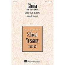 Hal Leonard Gloria TTBB arranged by John Leavitt