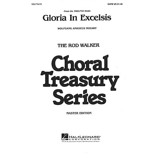 Hal Leonard Gloria in Excelsis SATB arranged by Rod Walker