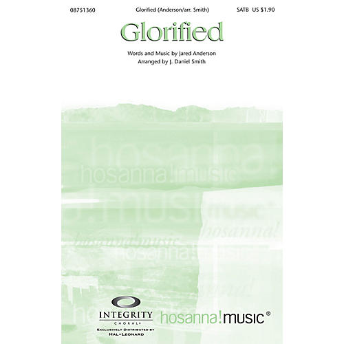 Integrity Choral Glorified CD ACCOMP by Jared Anderson Arranged by J. Daniel Smith
