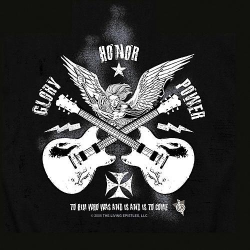 Musician's Friend Glory Angel T-Shirt