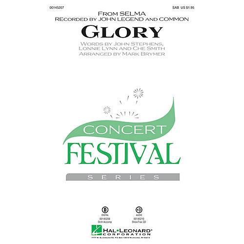 Hal Leonard Glory (from Selma) SAB by John Legend arranged by Mark Brymer