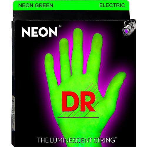 DR Strings Glow in the Dark Green Electric Guitar Strings Heavy