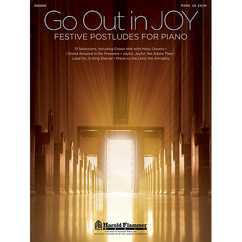 Shawnee Press Go Out in Joy - Festive Postludes for Piano