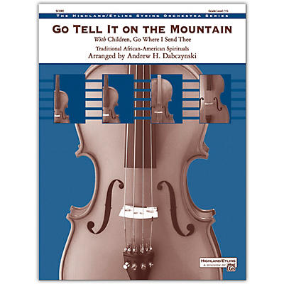 Alfred Go Tell It on the Mountain Conductor Score 1.5
