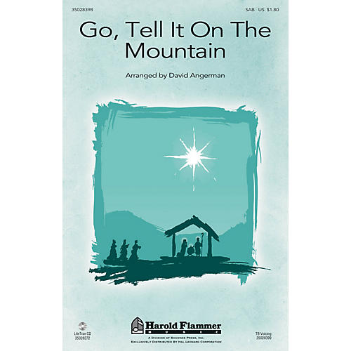 Shawnee Press Go, Tell It on the Mountain SAB arranged by David Angerman