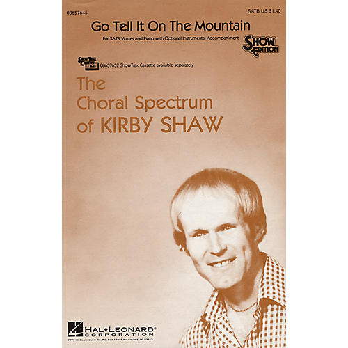 Hal Leonard Go Tell It on the Mountain SATB arranged by Kirby Shaw