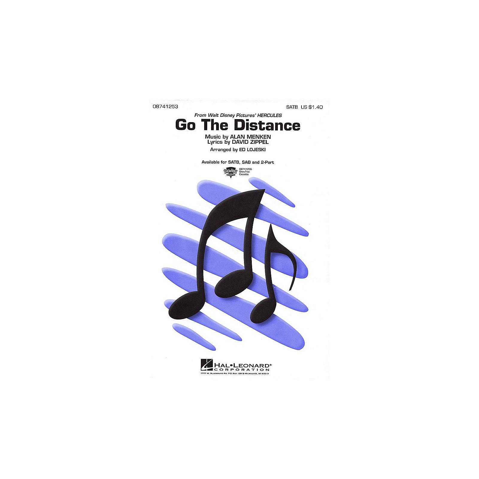 Hal Leonard Go the Distance SATB arranged by Ed Lojeski