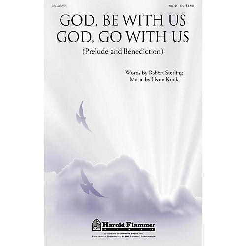 Shawnee Press God, Be With Us/God, Go With Us SATB composed by Robert Sterling