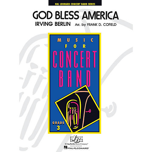 Hal Leonard God Bless America - Young Concert Band Level 3 arranged by Frank Cofield