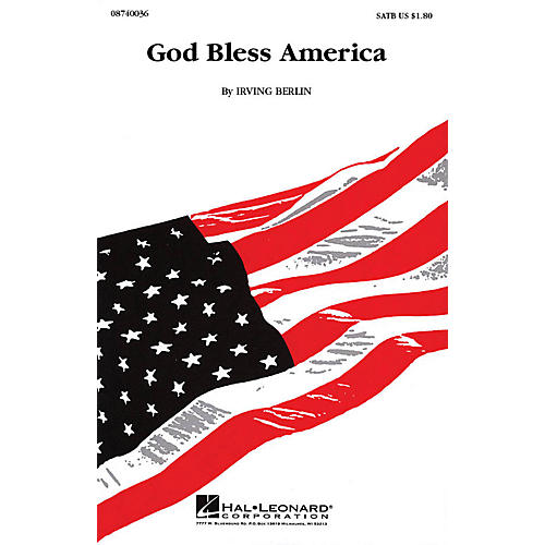Hal Leonard God Bless America 2-Part Arranged by Keith Christopher