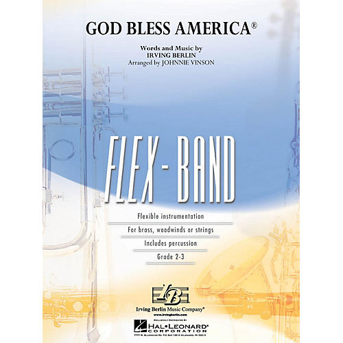 Hal Leonard God Bless America® Concert Band Level 2-3 Arranged by Johnnie Vinson