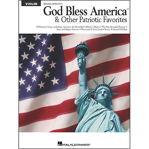 Hal Leonard God Bless America & Other Patriotic Favorites - Violin