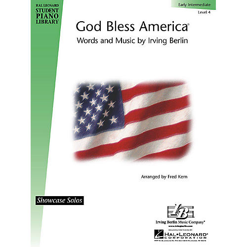Hal Leonard God Bless America® Piano Library Series by Irving Berlin (Level Early Inter)