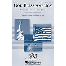 Hal Leonard God Bless America® TTBB Div A Cappella Arranged by Mark Brymer