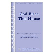 Transcontinental Music God Bless This House SATB Chorus and Solo arranged by Andrew Heller