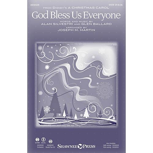 Shawnee Press God Bless Us Everyone SAB by Andrea Bocelli Arranged by Joseph M. Martin