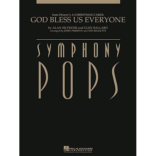 Hal Leonard God Bless Us Everyone (from A Christmas Carol) Symphony Pops Series  by Alan Silvestri