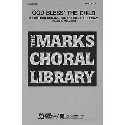 Edward B. Marks Music Company God Bless' the Child SATB composed by Arthur Herzog Jr.