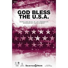 Shawnee Press God Bless the U.S.A. TTBB by Lee Greenwood arranged by David Schmidt
