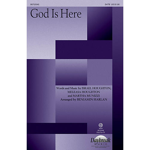 Daybreak Music God Is Here SATB arranged by Benjamin Harlan