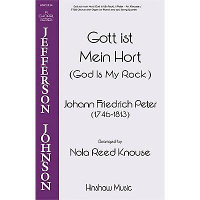 Hinshaw Music God Is My Rock (Fott Ist Mein Hort) TTBB arranged by Nola Reed Knouse