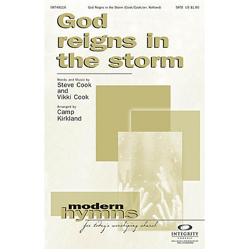 Integrity Choral God Reigns in the Storm Orchestra Arranged by Camp Kirkland