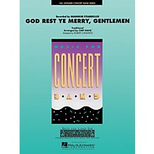 Hal Leonard God Rest Ye Merry Gentlemen Concert Band Level 3-4 by Mannheim Steamroller Arranged by Robert Longfield