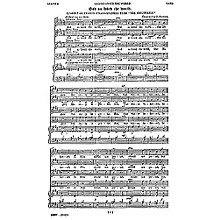 Novello God So Loved the World (New Edition) SATB Composed by John Stainer
