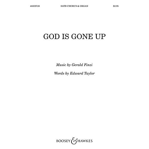 Boosey and Hawkes God is gone up (SATB divisi with Organ) SATB Divisi composed by Gerald Finzi