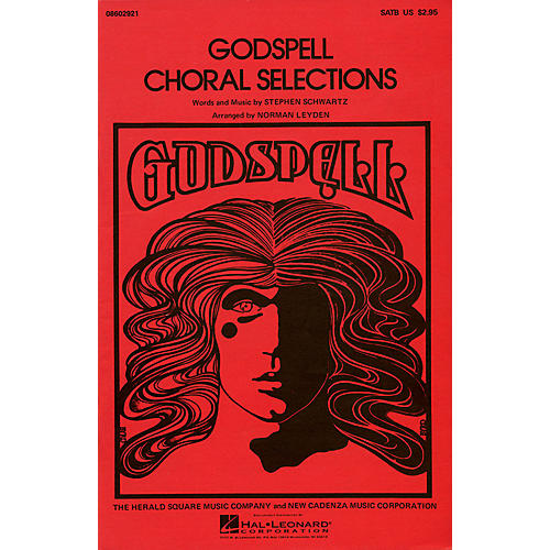 Hal Leonard Godspell (Choral Selections) SATB arranged by Norman Leyden