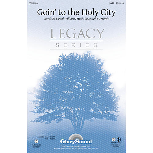 Shawnee Press Goin' to the Holy City Studiotrax CD Composed by Joseph M. Martin