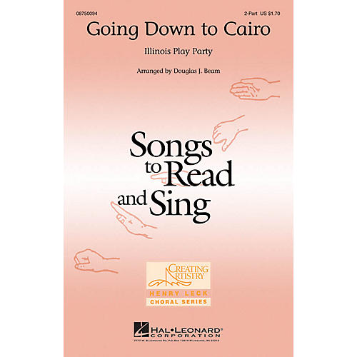 Hal Leonard Going Down to Cairo 2-Part arranged by Douglas Beam