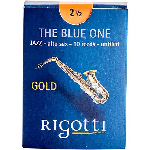 Rigotti Gold Alto Saxophone Reeds Strength 2.5 Strong