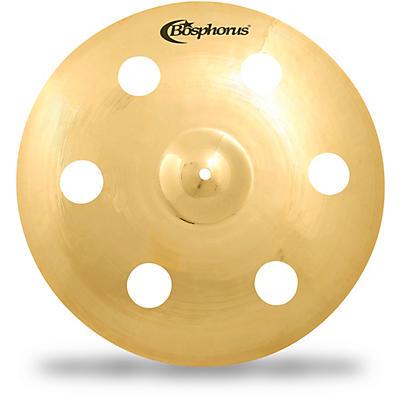 Bosphorus Cymbals Gold Fx Crash with 6 Holes
